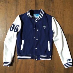 """Urban Letterman Bomber """"Stay Fresh Daily"""" by FISH"""